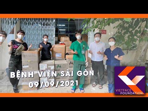 Vietface Foundation tặng 10 máy thở cho 6 bệnh viện tại Saigon