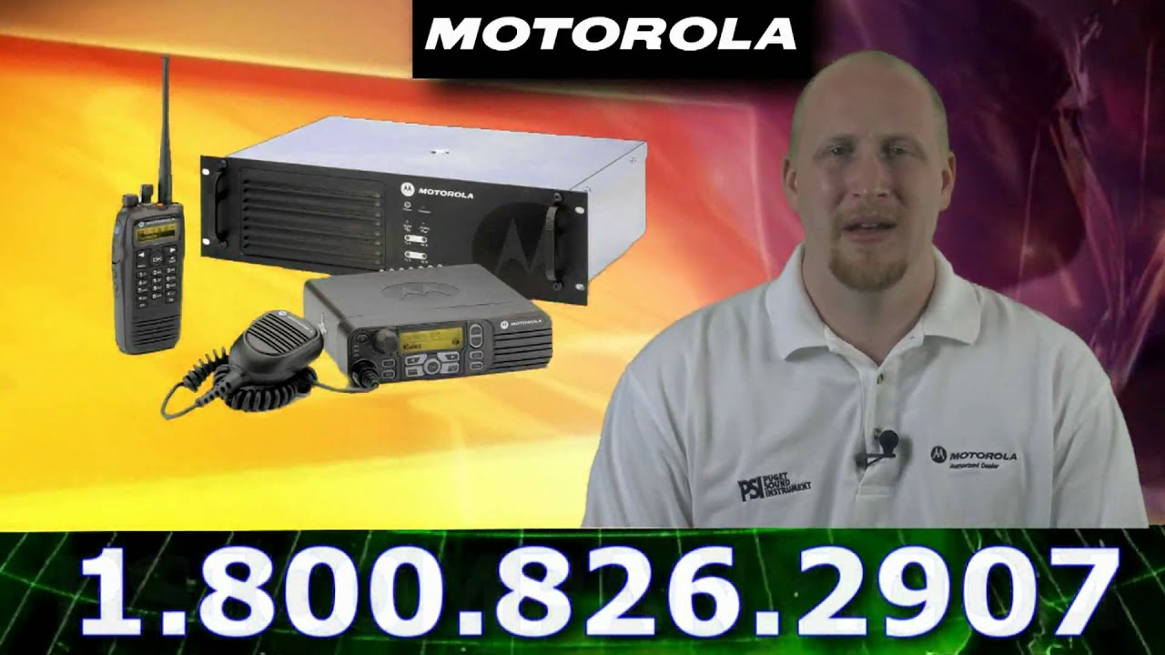 Motorola Mototrbo 800 900 Mhz Radio System Overview