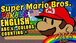 Super Mario Bros. Themed Kids Video - Featuring ABC's, Colors, Counting, Shapes and More!
