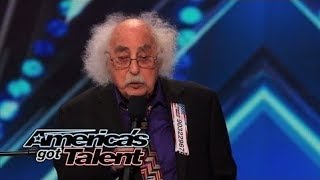 Ray Jessel: 84-Year-Old Sings a Naughty Original Song - America's Got Talent