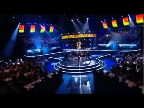 Eric Saade feat. Dev - Hotter than fire (LIVE fotbollsgalan 2011) (HD 1080p)