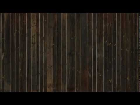 Sonnenverbrannte Altholz-Schalung mit Nut + Kamm, gebürstet | Old Barn Boards, brushed
