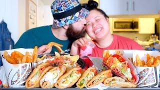TACO BELL MUKBANG 먹방 (EATING SHOW!)