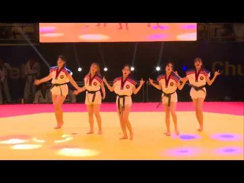 Ktigers Demo at Korea Open 2017 - Taekwondo
