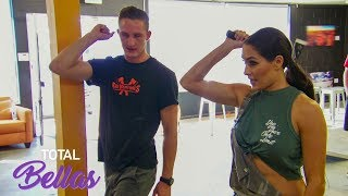 Nikki Bella goes axe-throwing: Total Bellas, March 10, 2019