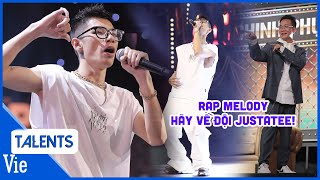 """Chàng rapper làm mới hit DUY MẠNH """"Hãy về đây bên anh"""" style rap melody khiến Justatee phấn khích"""