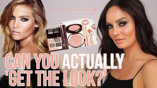 Following a Charlotte Tilbury Tutorial! Are Her Makeup Sets Worth It?