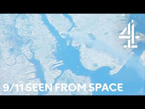 September 11th Seen from Space   Space Week Live   Channel 4