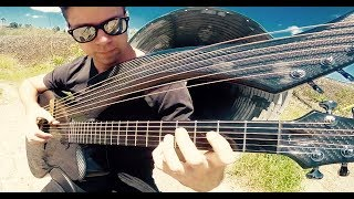 The Cranberries - Zombie (Harp Guitar Cover by Jamie Dupuis)