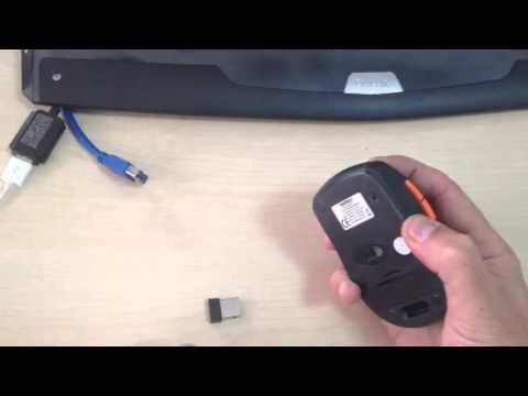 Everest SM-444 mouse usb alıcısının tanıtılması (Segment Bilgisayar)