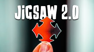 Solving The IRIDESCENT Jigsaw Puzzle!! (See-Through)