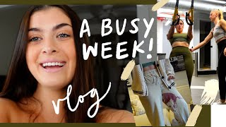 A week in NYC   Fitness progress, work + a wine disaster   vlog