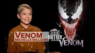 Michelle Williams 'Venom' interview: Tom Hardy is a puppy dog   Extra Butter