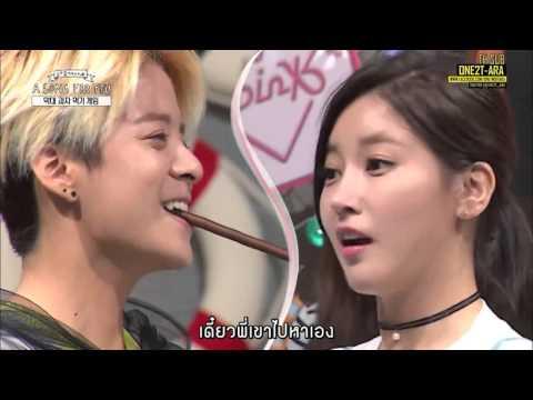 [Thaisub] 150911 A Song For You - T ARA โซยอนเล่นเกมส์กินป็อกกี้กับแอมเบอร์ cut