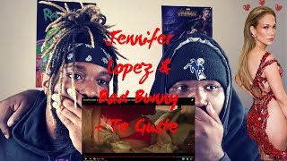 Jennifer Lopez & Bad Bunny - Te Guste (Official Music Video) -REACTION-