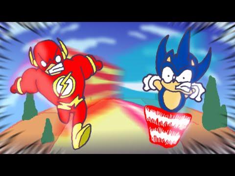Sonic Vs Flash Vs Quicksilver