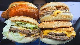 First time eating BURGER KING  XL Burgers  **BIG BITES**