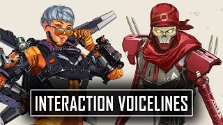 *ALL* Valkyrie Interaction Voice Lines - Apex Legends Season 9