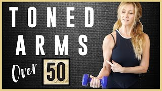 Toned Arm workout For Women Over 50 | Start Losing Those Flabby Bat Wing Arms Today!