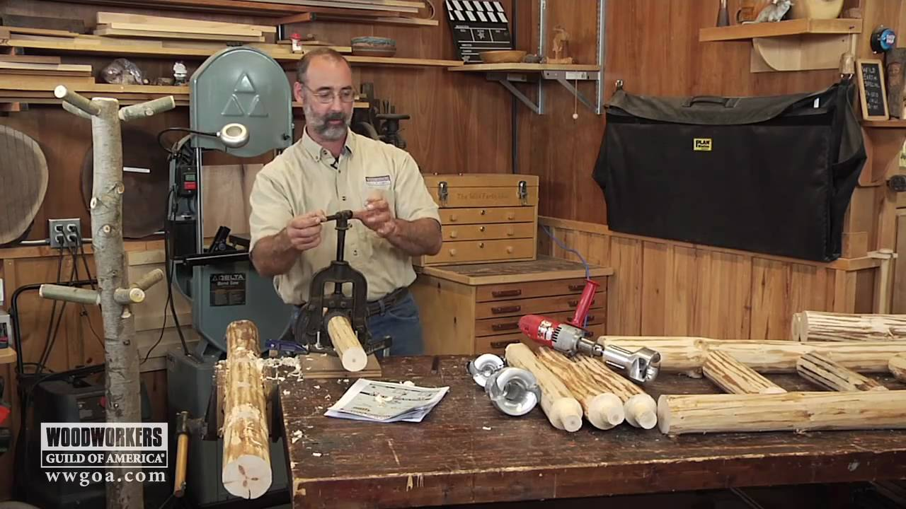 Woodworking Project Tips - Making Rustic Furniture - The ...