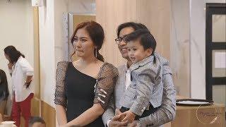 Ngọc Lan khóc nghẹn khi xem clip hành trình lớn lên của con trai Louis