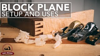 The Block Plane - Tune Up and Use - Most Useful Hand Plane In the Shop