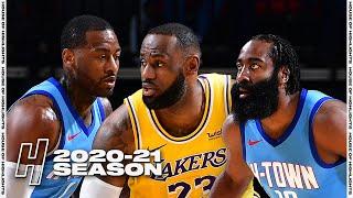 Los Angeles Lakers vs Houston Rockets - Full Game Highlights | January 12, 2021 | 2020-21 NBA Season