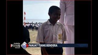 Video Panjat Tiang Bendera Viral, Menpora Ingin Undang Joni ke Jakarta - BIM 17/08