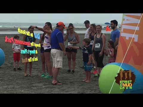 Your First Mud Run in Wildwood, NJ Promo