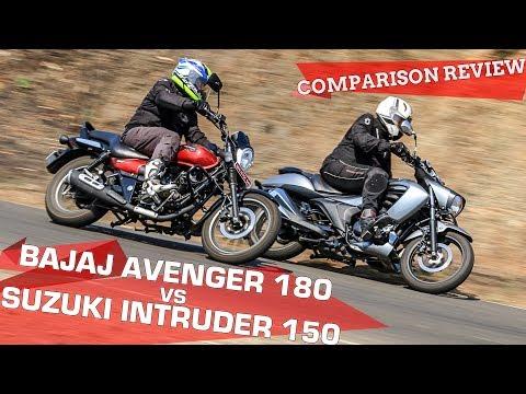 Bajaj Avenger 180 vs Suzuki Intruder 150: Comparison Review
