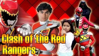Clash of the Red Rangers Feat. Brennan Mejia [Fan Film]