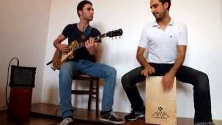 Cajon & Guitar Rock Duo Solo - Tricks
