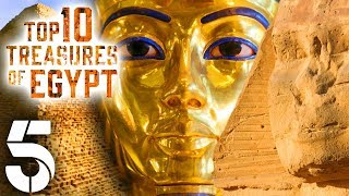 Top 10 Treasures Of Egypt | History Documentary | Channel 5 #AncientHistory