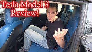 Tesla Model 3 Interior Review! *Custom*