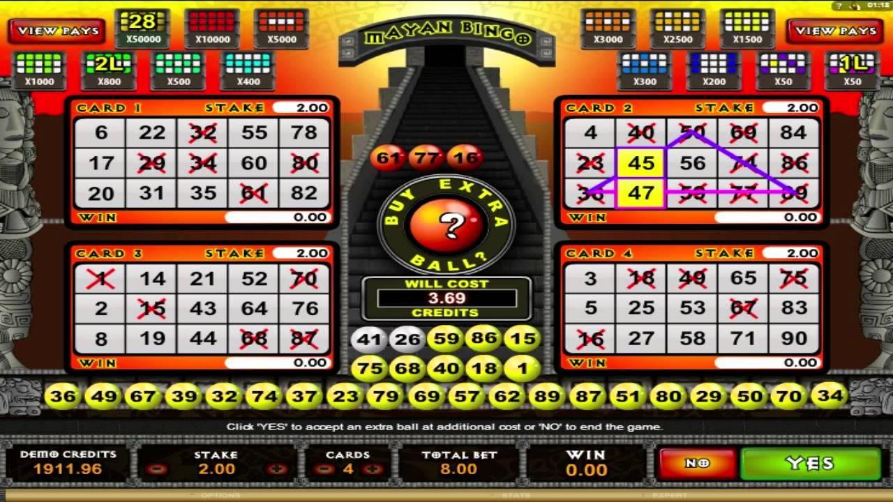 Free online keno slot machines