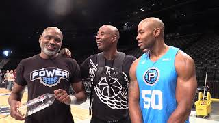 Corey Maggette, Cuttino Mobley, Quentin Richardson  - BIG3 Interview - cameos from Xavier Silas, JYD