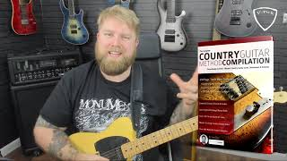 Learn Two EASY Country Guitar Solos - Playing Over Chord Changes Don Rich Style