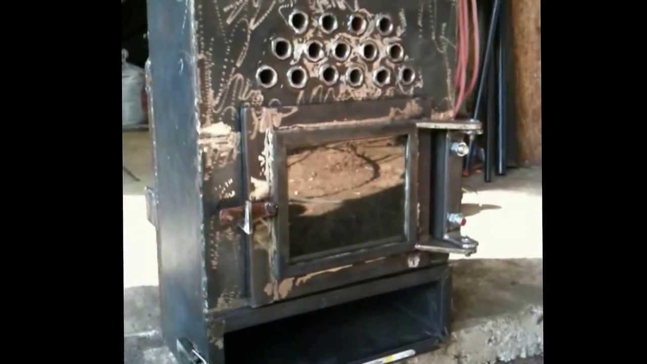 Pellet Stove Homemade Part 1 4 Youtube