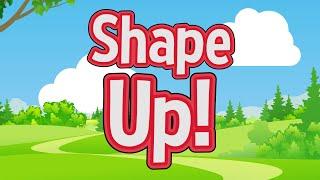 Shape Up! | Jack Hartmann | Shapes Song