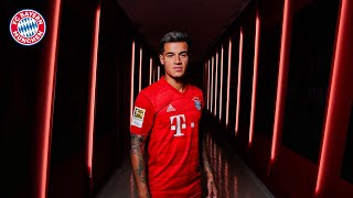 Medical, Presentation, Photoshoot - Philippe Coutinho's First Day at FC Bayern
