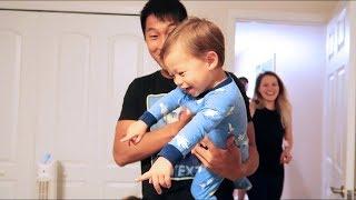 Toddler Bedroom Makeover! (Most Adorable Reaction)
