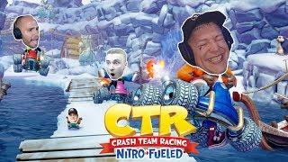 Crash Team Racing mit Monte, Solution & Horni😍 Flying Uwe Gaming
