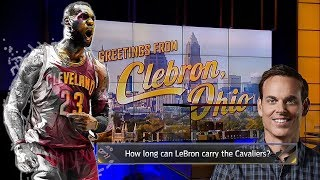 "Colin Cowherd BRUTALLY HONEST: ""Cavs Without LeBron are Trash. Should Be Called CLeBron Ohio!"""
