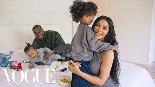 /73 questions with kim kardashian west ft kanye west vogue