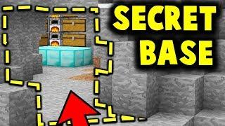 SECRET ENEMY BASE HIDDEN IN CAVE! - HIDE OR HUNT #4
