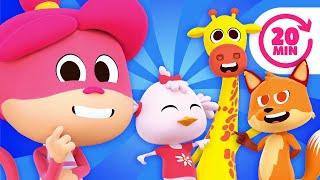 ¡El Baile de los Animales y Más Canciones Divertidas del Zoo!   El Reino Infantil