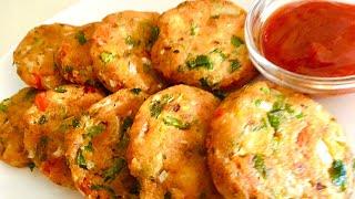 Quick& Tasty Bread Snacks recipe// Veg bread Cutlets// Merienda Vegana .//Quick Recipies