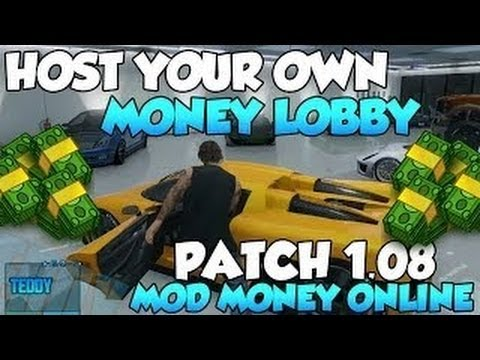 GTA 5 Online How To Host A Modded Lobby - GTA V Unlimited Money   RP Glitch - XBOX 360 & PS3 MOD - Smashpipe Games