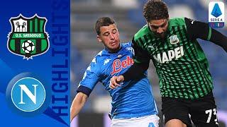 Sassuolo 3-3 Napoli | Sassuolo Score 95th Minute Equaliser in 6-Goal Thriller! | Serie A TIM