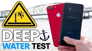 Galaxy S8 Plus vs 7 Plus DEEP Water Test! How Deep Before It Dies?